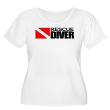 Rescue Diver Plus Size T-Shirt