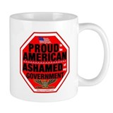 Proud to be American Small Mugs