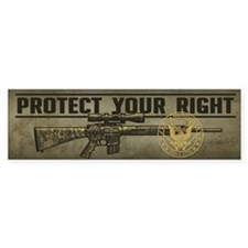 Protect Your Right Bumper Sticker