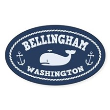 Bellingham Whale Decal