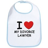 I love divorce lawyer Bib