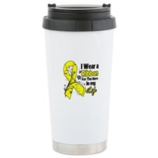Ribbon Hero Ewing Sarcoma Ceramic Travel Mug