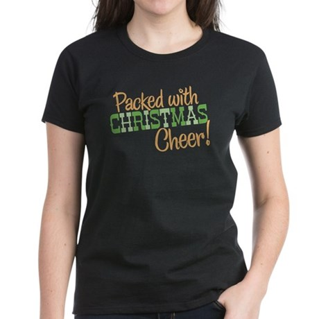 Christmas Cheer Women's Dark T-Shirt
