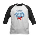 Big Brother to be -Airplane Baseball Jersey