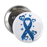 "Blue Awareness Ribbon 2.25"" Button (10 pack)"