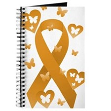 Orange Awareness Ribbon Journal