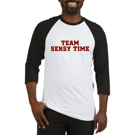 Team Seksy (Sexy) Time Baseball Jersey