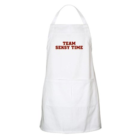 Team Seksy (Sexy) Time BBQ Apron