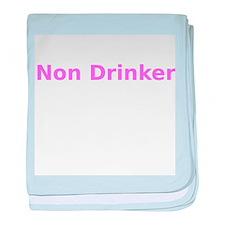 Non Drinker baby blanket