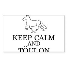 Keep Calm and Tolt On Decal