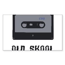 old school cassette Decal