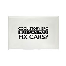 Fix Cars job gifts Rectangle Magnet (100 pack)
