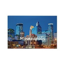 Minneapolis Rectangle Magnet (10 pack)