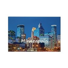 Minneapolis Rectangle Magnet