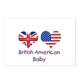 British American Baby Postcards (Package of 8)