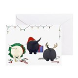 Scottish Terrier Christmas Cards (Pk of 10)
