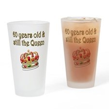MAJESTIC 60 YR OLD Drinking Glass