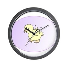 Funny Cute chicky Wall Clock