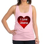 I Love Obama Racerback Tank Top
