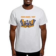 Custom Cartoon DJ Booth T-Shirt