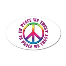 In Peace We Trust Wall Decal