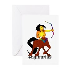 Whimsical Sagittarius Greeting Cards (Pk of 20)