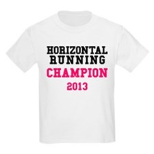 Horizontal Running Champion 2013 T-Shirt