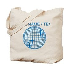 Custom Disco Ball Tote Bag