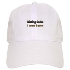 Dieting Sucks Baseball Baseball Cap