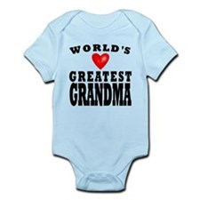 Worlds Greatest Grandma Body Suit