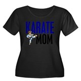 Karate Mom (OF BOY) 3 Plus Size T-Shirt
