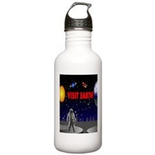 Visit Earth Spaceman Water Bottle