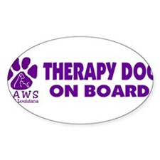 therapydogonboard Decal