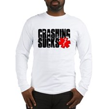 Crashing Sucks II Long Sleeve T-Shirt