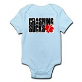 Crashing Sucks II Infant Bodysuit