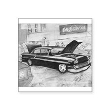 59 Chevy Impala Sticker