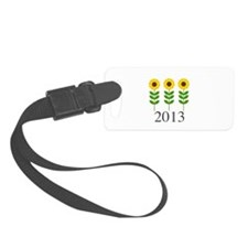 Personalizable Sunflowers Luggage Tag