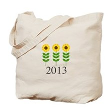 Personalizable Sunflowers Tote Bag