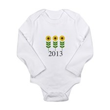 Personalizable Sunflowers Body Suit