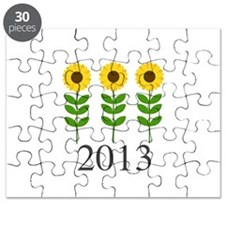 Personalizable Sunflowers Puzzle
