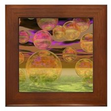 Peace in the Storm Framed Tile