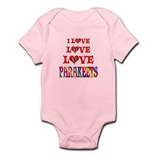 Love Love Parakeets Infant Bodysuit