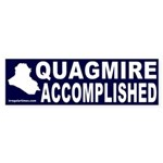 Quagmire Accomplished Bumper Sticker