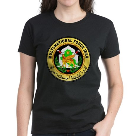 Iraq Force Women's Dark T-Shirt