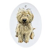 Goldendoodle Oval Ornament