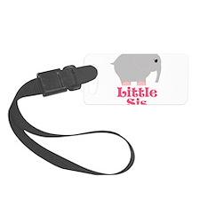 Little Sis Elephant Luggage Tag
