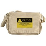 Caution Messenger Bag