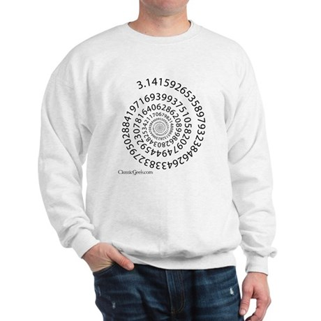 Spiral Pi Sweatshirt