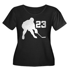 Hockey Player Number 23 T