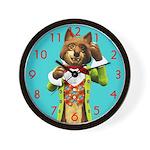 Mr Wolf Wall Clock